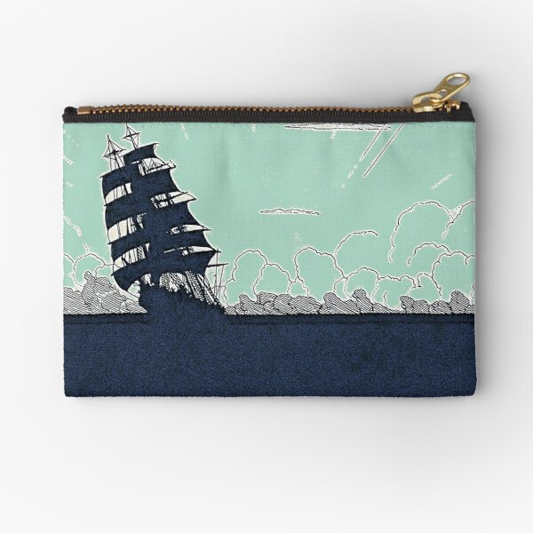 Windy Day Colors Zipper Pouch