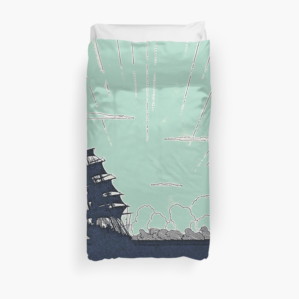 Windy Day Colors Duvet Cover