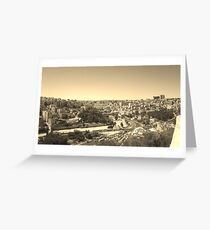 Yesteryears in the Middle East Greeting Card