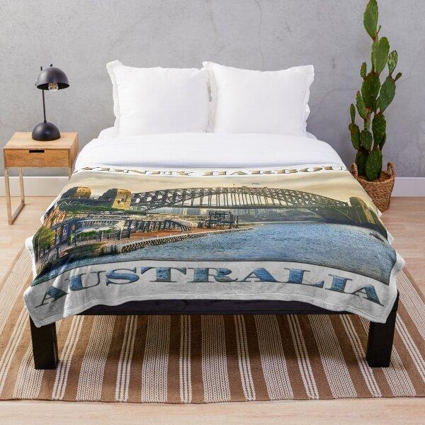 Sydney Harbour Throw Blanket