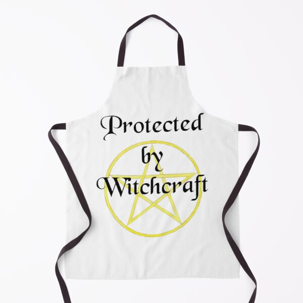 Protected by Witchcraft Apron