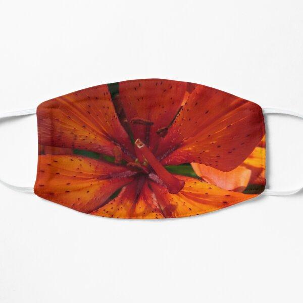 Fire Lily 2 Flat Mask