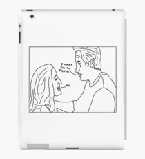 X-Files: Sad Mulder iPad Case/Skin
