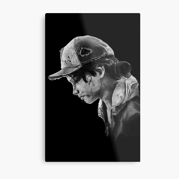 The Walking Dead Game Clementine Metal Print