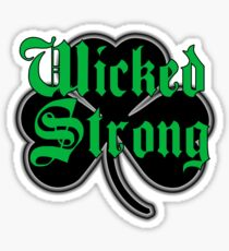 WickedStrong Sticker