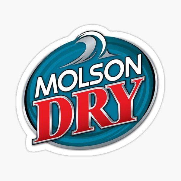 Molson Dry Sticker
