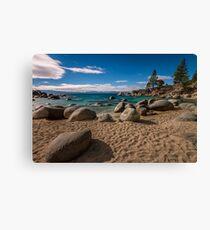 At Secret Cove - Lake Tahoe Canvas Print