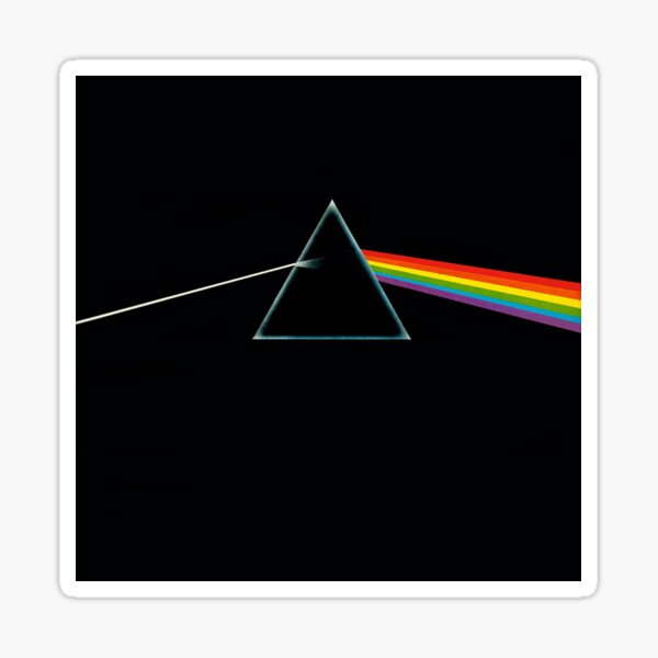 Pink Floyd, The Dark Side Of The Moon Sticker