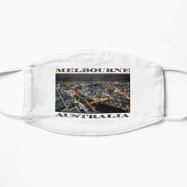 City Lights (widescreen poster on white) Mask