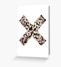 Flower X 2  Greeting Card