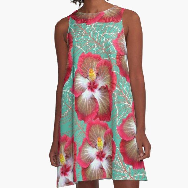 Gumamela Pink  A-Line Dress