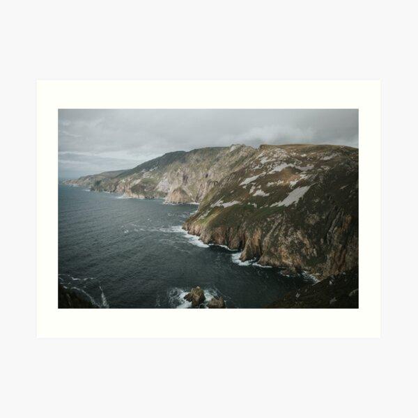 Slieve League, Ireland  Art Print