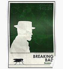 Breaking Bad season 1 minimalist poster Poster