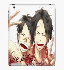 Luffy and Ace iPad Case/Skin