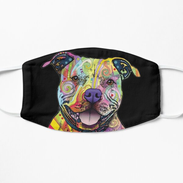 PITBULL DOG LOVERS FATHER DAY GIFT Mask