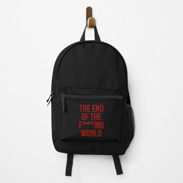 The End of The Film Ver 2 Backpack