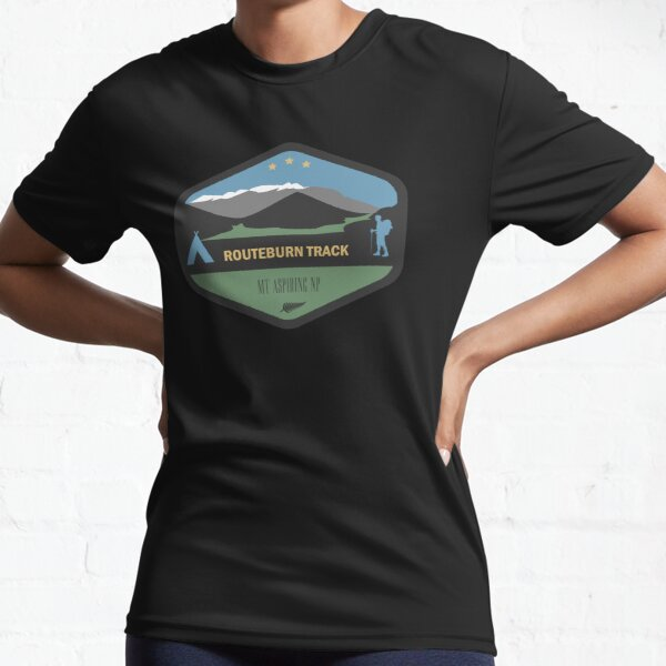 Routeburn Track New Zealand Great Walk Active T-Shirt