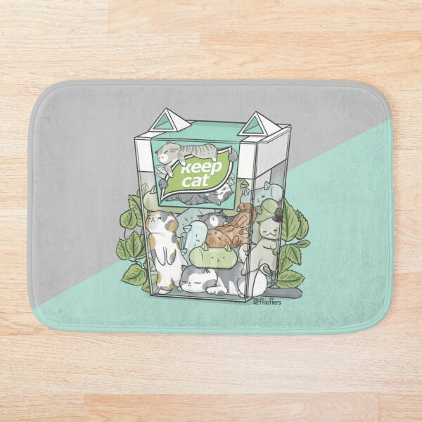 Keep Cat Bath Mat