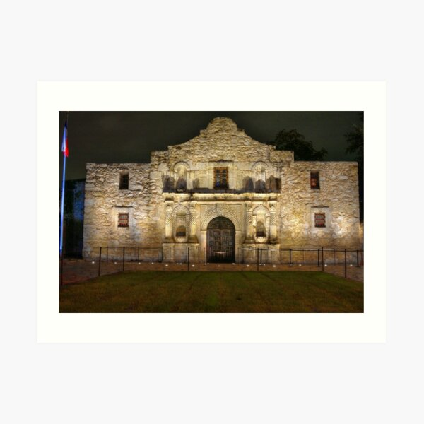 Alamo Art Print
