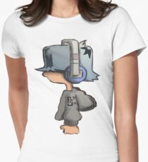 Headphone Max Women's Fitted T-Shirt