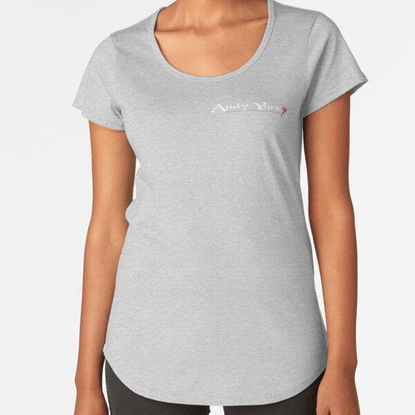 AY LOGO Premium Scoop T-Shirt