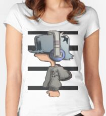 HeadPhone Max 2 Women's Fitted Scoop T-Shirt