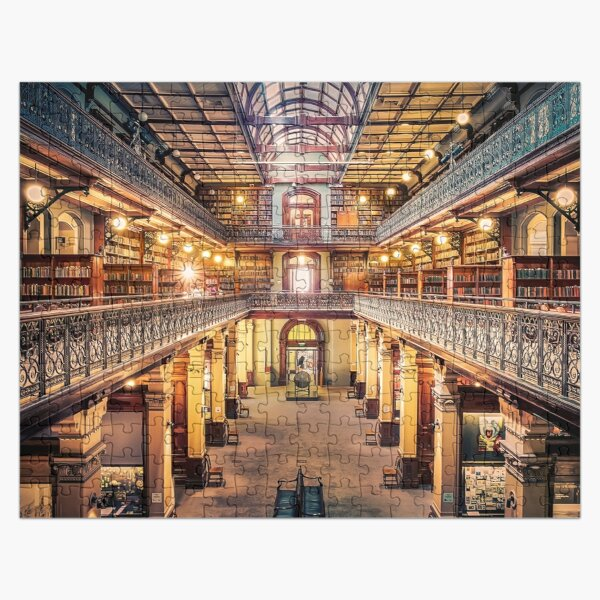 Let us Retire To The Library Jigsaw Puzzle