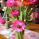 Poppies in a vase by Bee Williamson