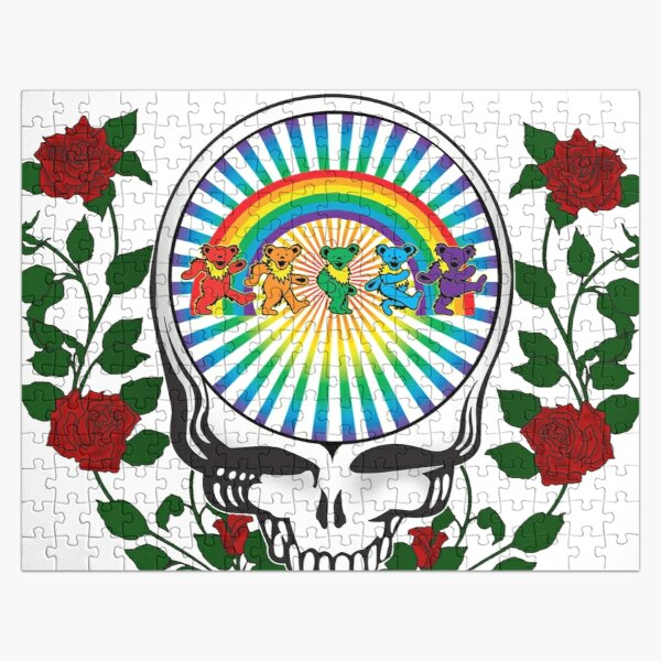 Copy of Skeleton Roses Jigsaw Puzzle