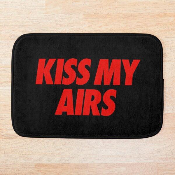 """Kiss My Airs """"BRED"""" Bath Mat"""