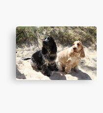 Bart and Gracie Canvas Print