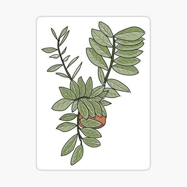 Twisty Houseplant Sticker