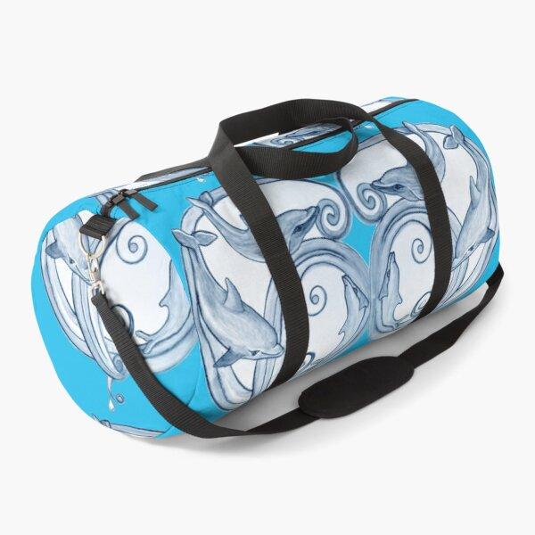 Dolphin Swirls Duffle Bag