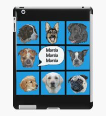 Silly dogs spoof  iPad Case/Skin