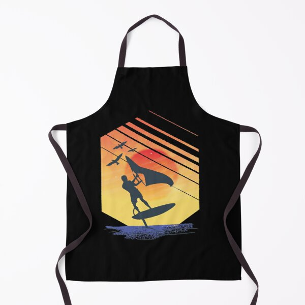 Wing Foiling Surfing Surfer Gift Idea Apron