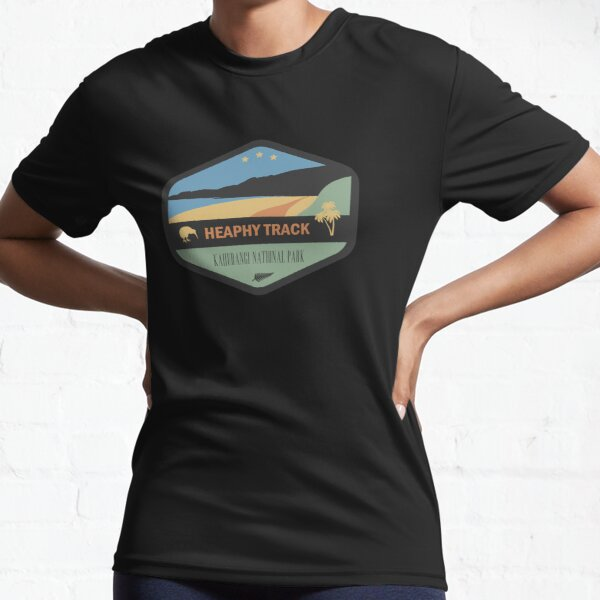 Heaphy Track New Zealand Great Walk Active T-Shirt