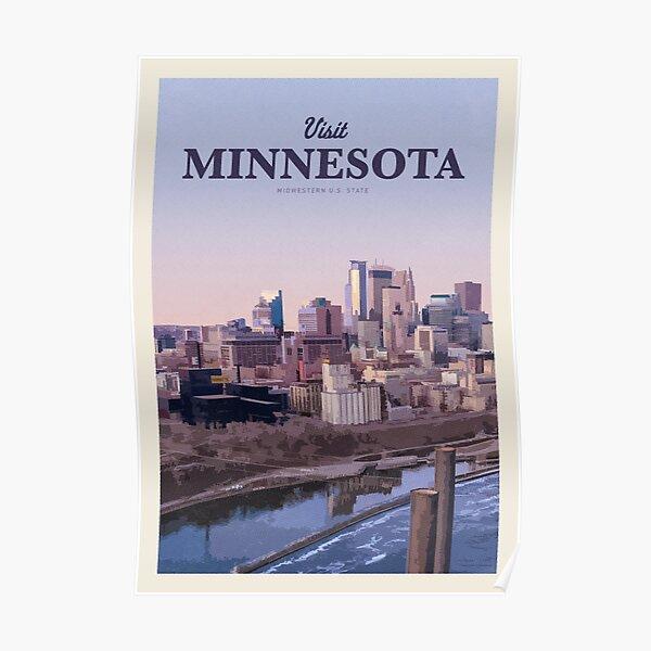 Visit Minnesota Poster