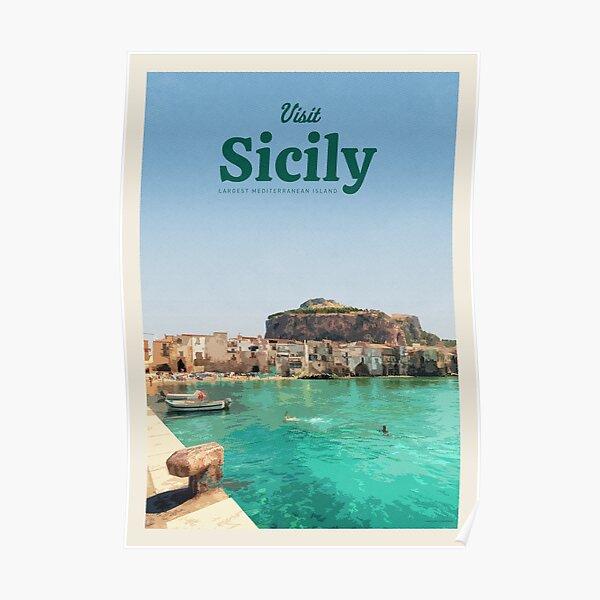 Visit Sicily Poster