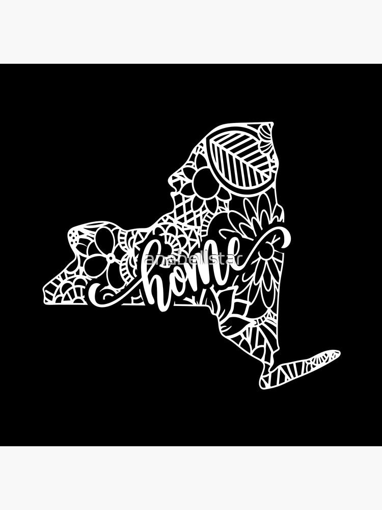 New York State Mandala by anabellstar