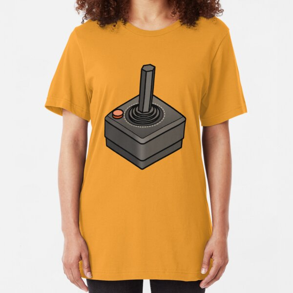 Retro Joystick Slim Fit T-Shirt