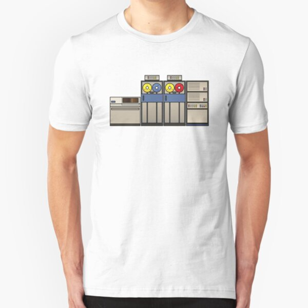 Vintage Mainframe Slim Fit T-Shirt
