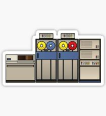 Vintage Mainframe Sticker