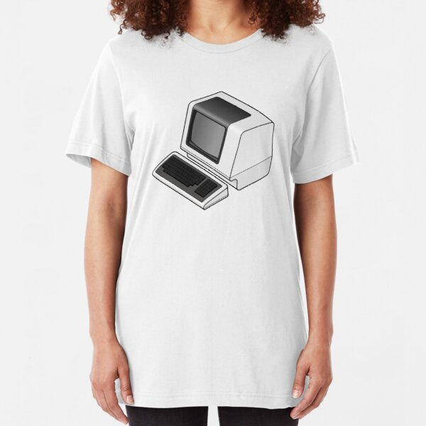 Serial Terminal Slim Fit T-Shirt