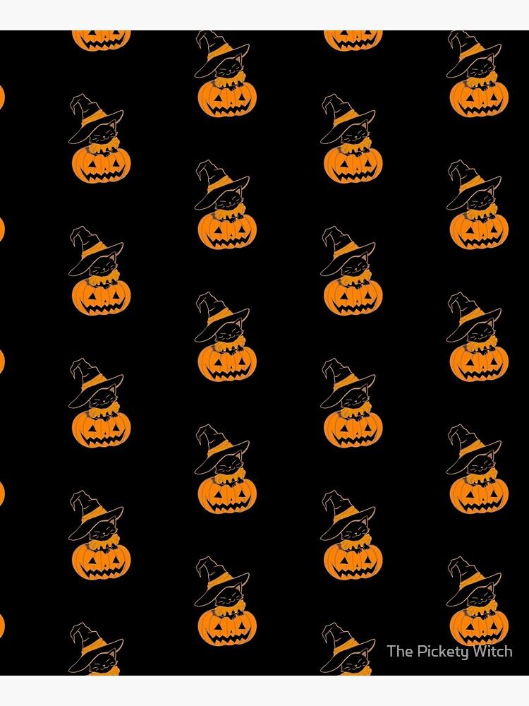Pumpkin Kitty by PicketyWitch23