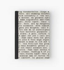 King Lear Hardcover Journal