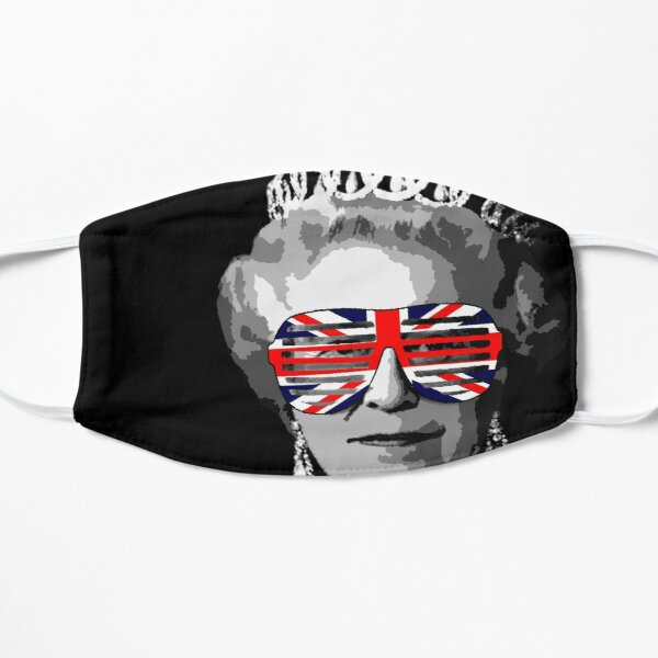 Queen Elizabeth Flache Maske