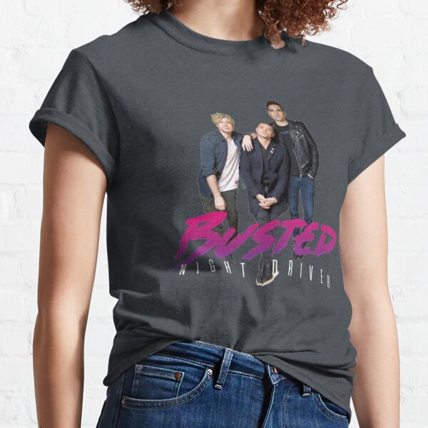 Busted Night Driver Classic T-Shirt