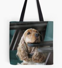 Resting and Waiting. Tote Bag