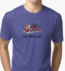 Le Grille! Tri-blend T-Shirt