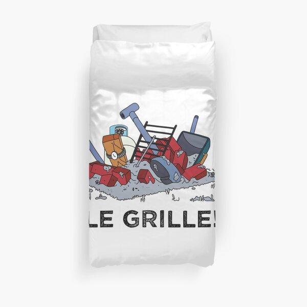 Le Grille! Duvet Cover